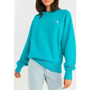 Champion & UO Reverse Weave Logo Pullover Sweater